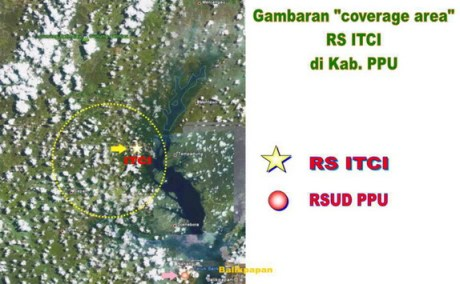 Peta Satelit RS ITCI